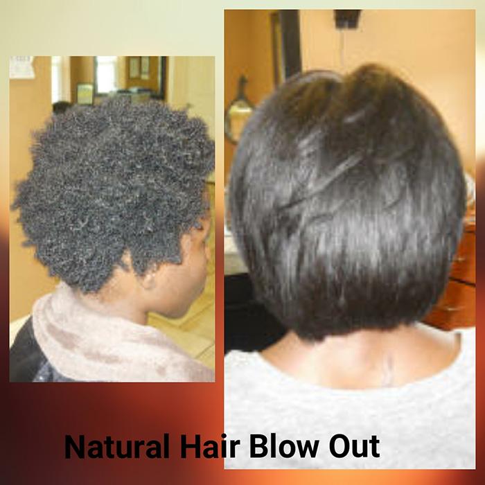 Natural Hair Blowouts
